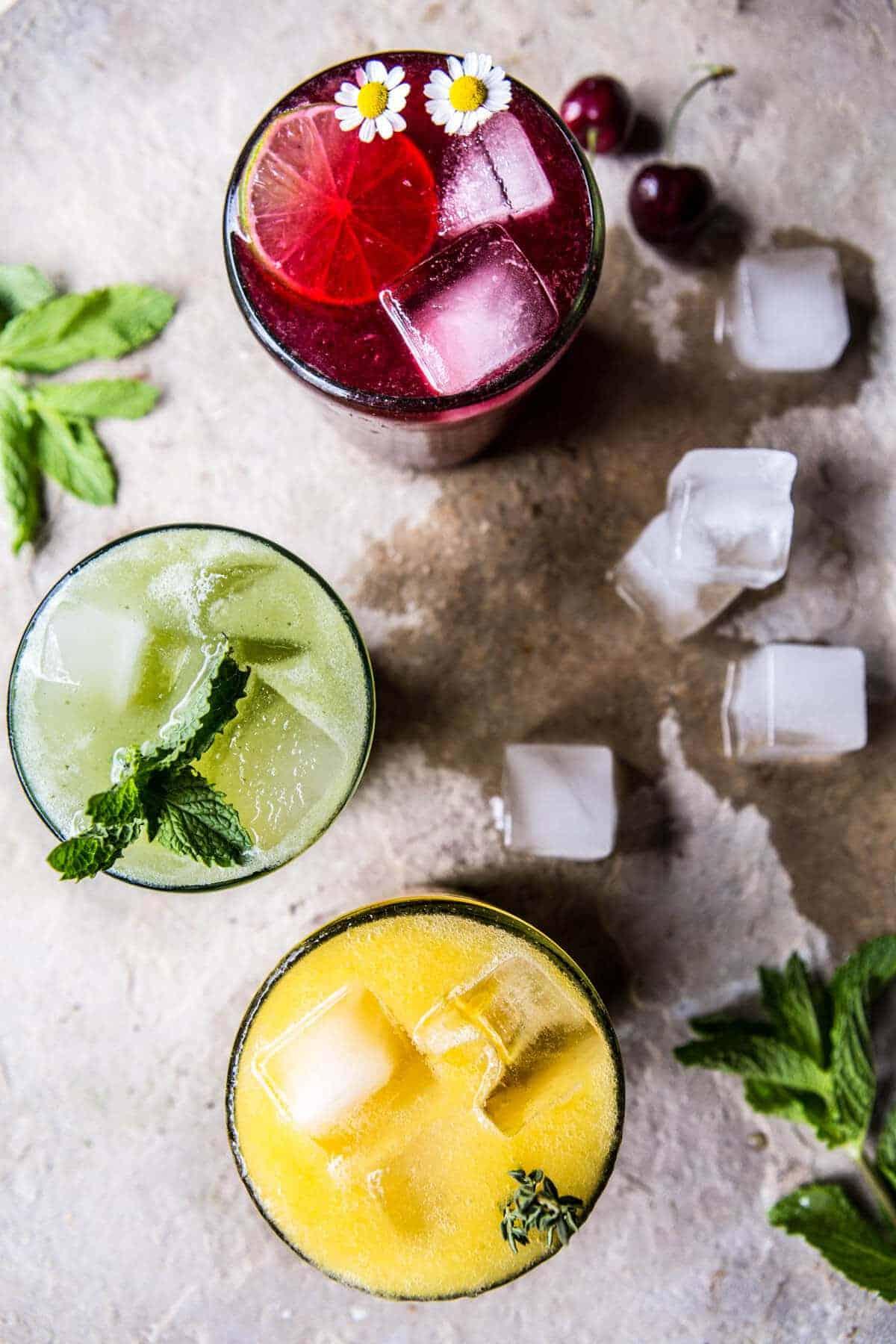 Summer Sodas 3 Ways | halfbakedharvest.com @hbharvest