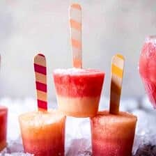 Melon Lemonade Margarita Popsicles + Video.