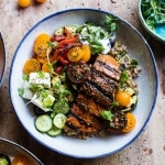 Salmon Souvlaki Bowls + Video