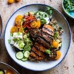 Salmon Souvlaki Bowls | halfbakedharvest.com @hbharvest