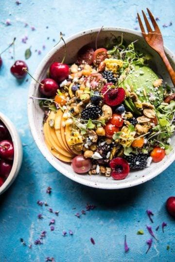 Summer Abundance Salad.