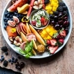 Summer Fruit Plate.