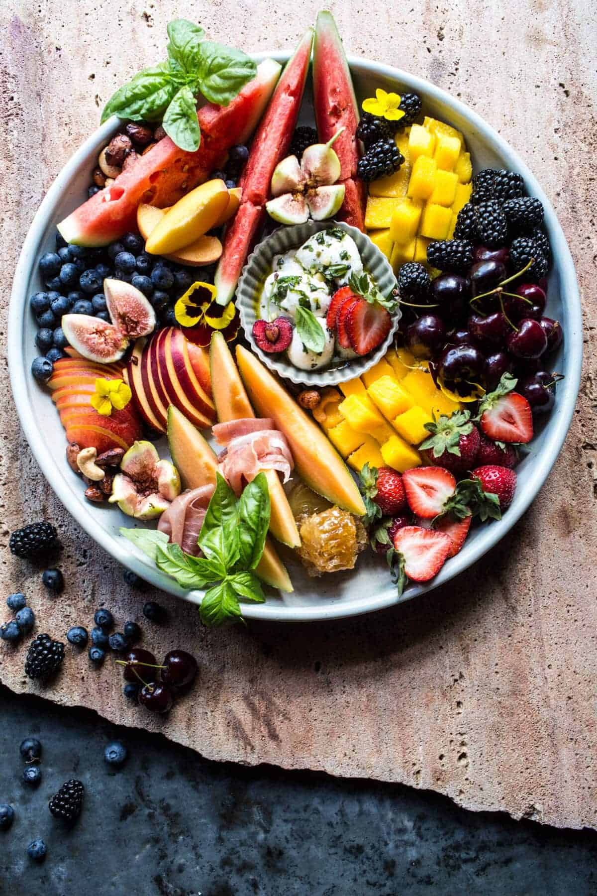 Summer Fruit Plate.