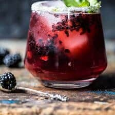 Blackberry Bourbon Smash + Video.