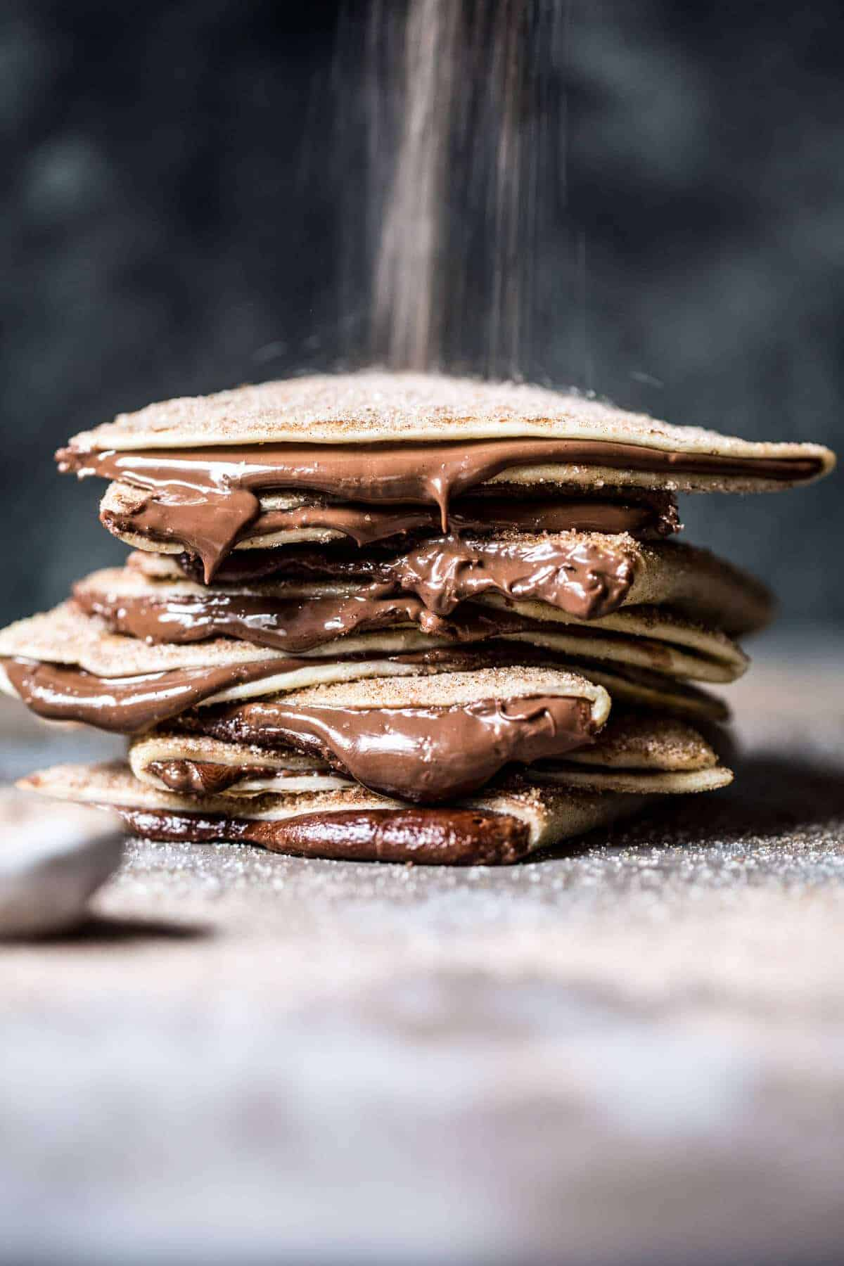 Cinnamon Sugar Nutella Quesadilla | halfbakedharvest.com @hbharvest