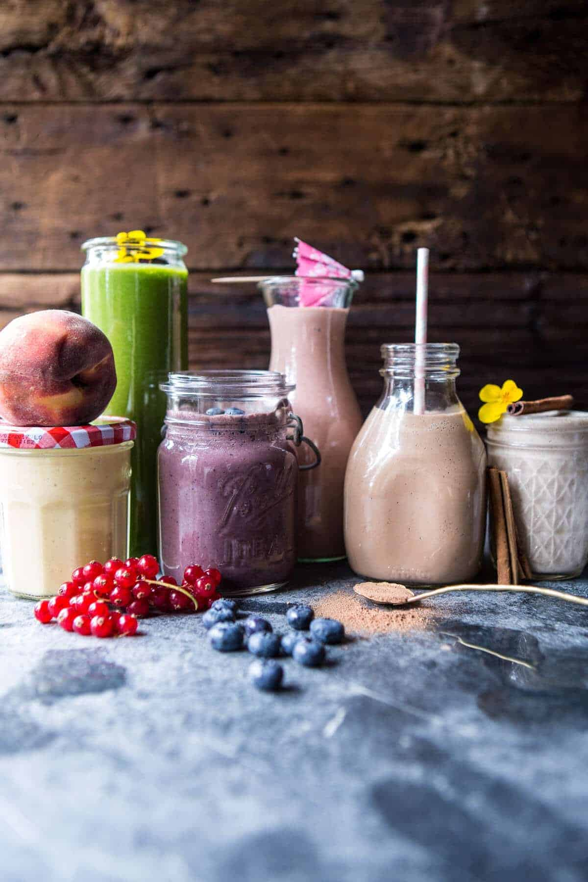 Freezer Smoothie Packs 6 Ways | halfbakedharvest.com @hbharvest