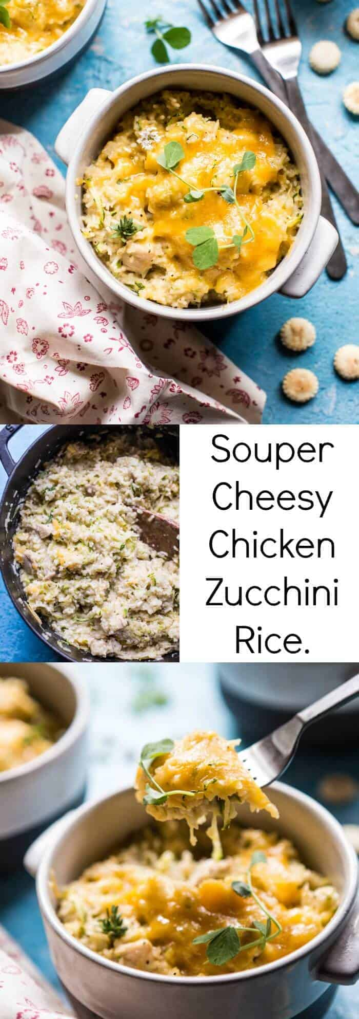Souper Cheesy Chicken Zucchini Rice | halfbakedharvest.com @hbharvest