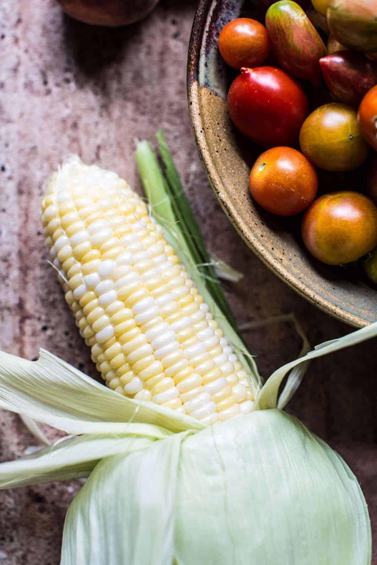 Summer Garden Guacamole | halfbakedharvest.com @hbharvest
