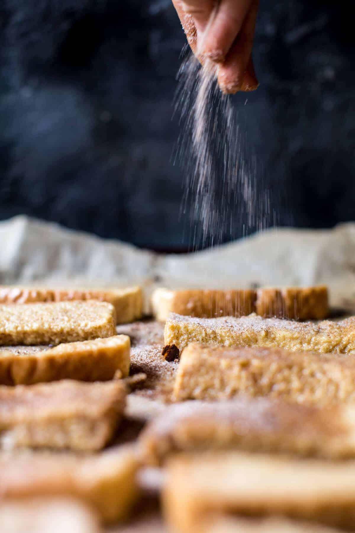Apple Butter Cinnamon French Toast Sticks | halfbakedharvest.com @hbharvest