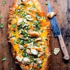 Cheesy Buffalo Chicken French Bread + Video