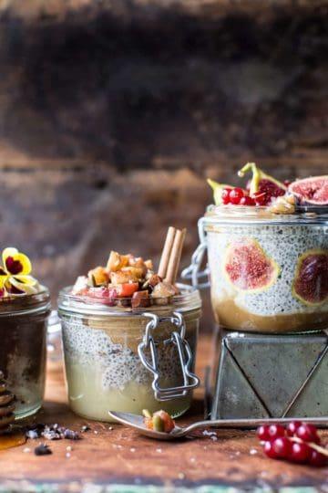 Chia Pudding 3 Ways.