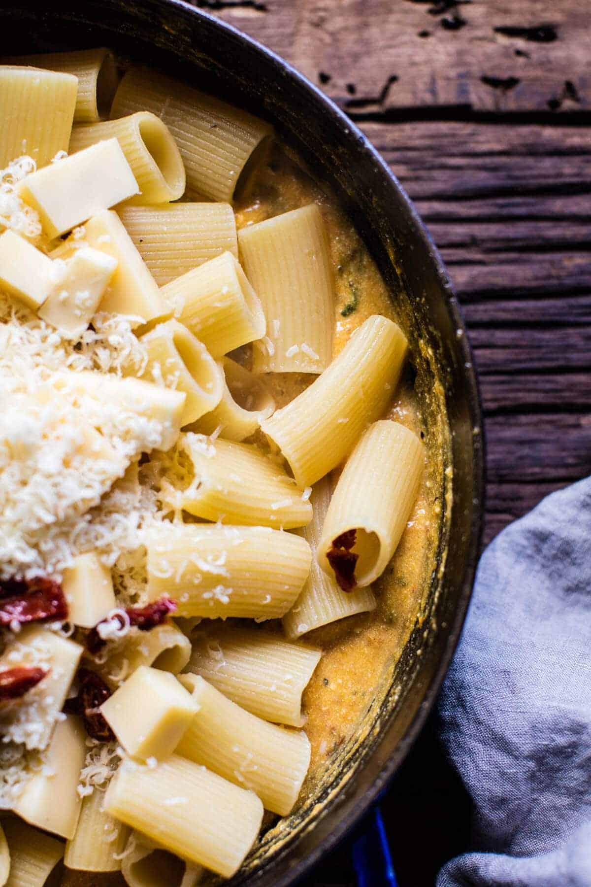 Baked 4 Cheese Butternut Squash Rigatoni | halfbakedharvest.com @hbharvest