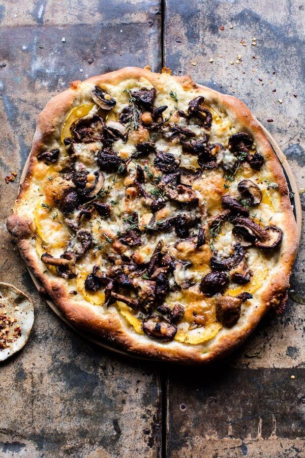 balsamic mushroom and goat cheese pizza half baked harvest bloglovin. Black Bedroom Furniture Sets. Home Design Ideas