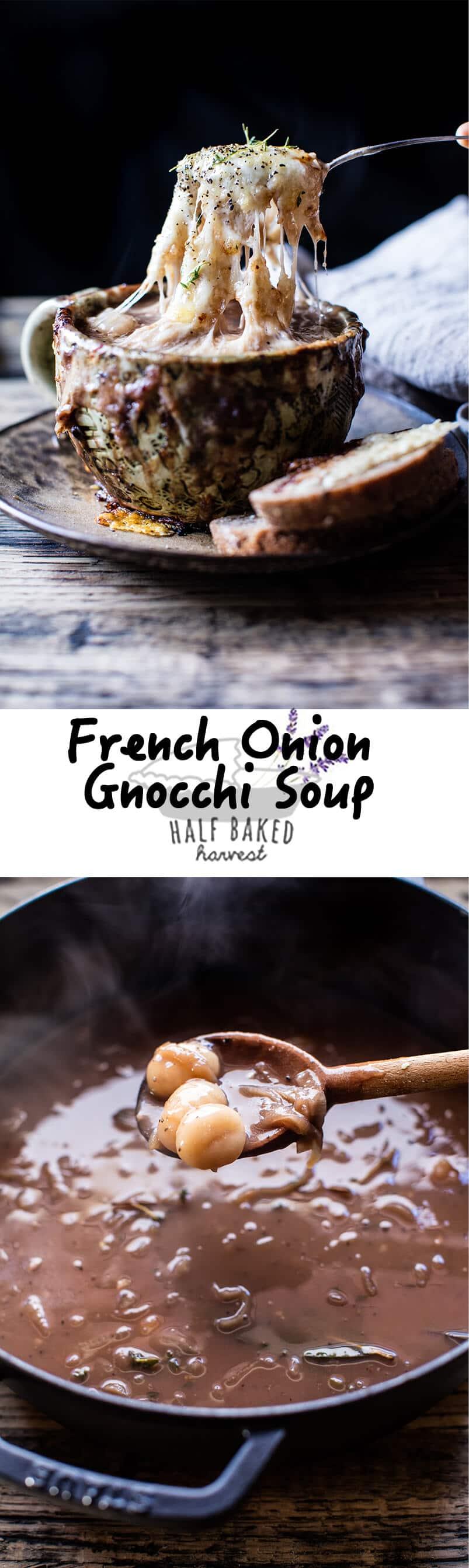 French Onion Gnocchi Soup | halfbakedharvest.com @hbharvest