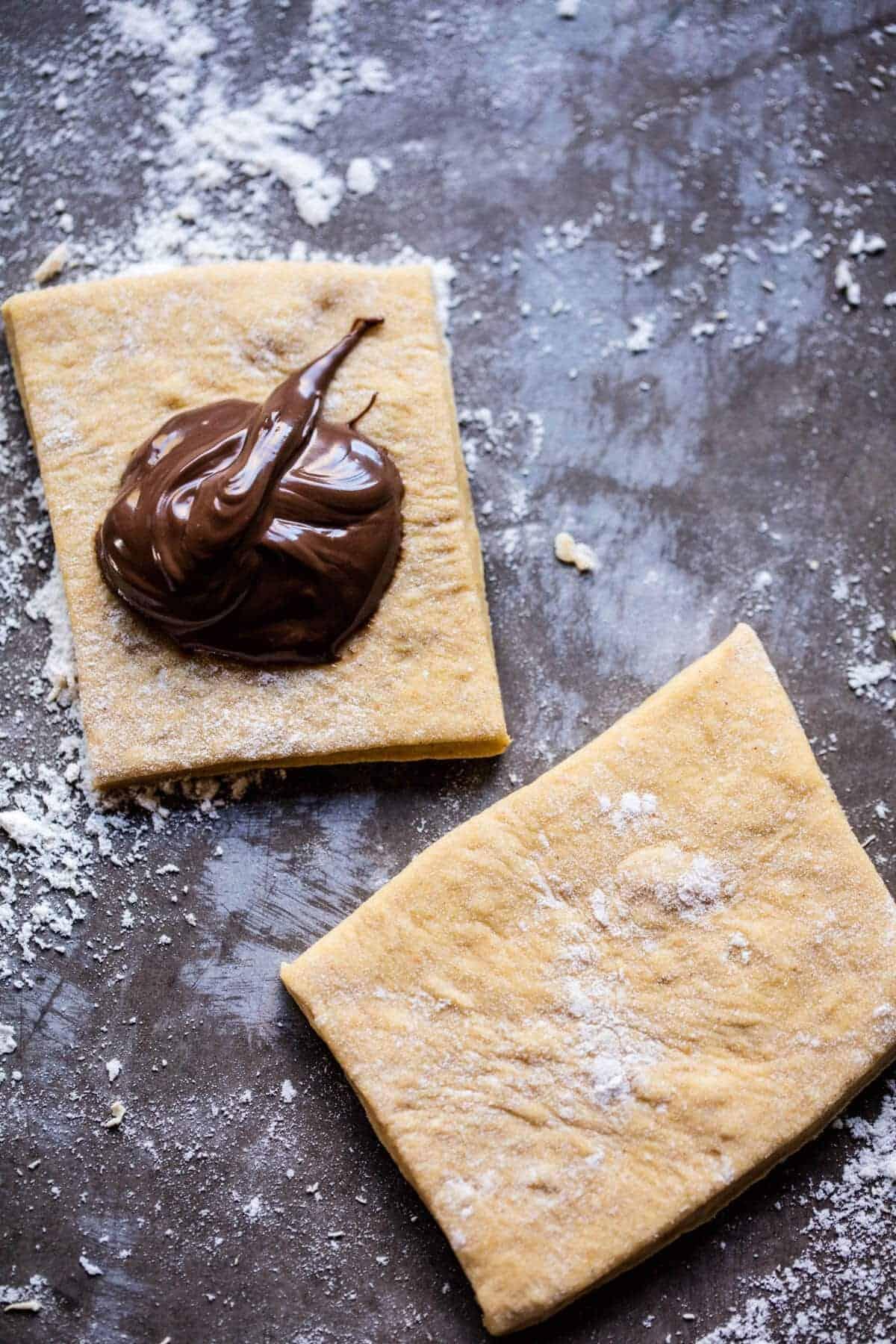 Nutella Stuffed Pumpkin Beignets | halfbakedharvest.com @hbharvest