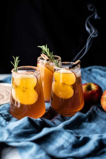 Smoky Harvest Apple Cider Margaritas.