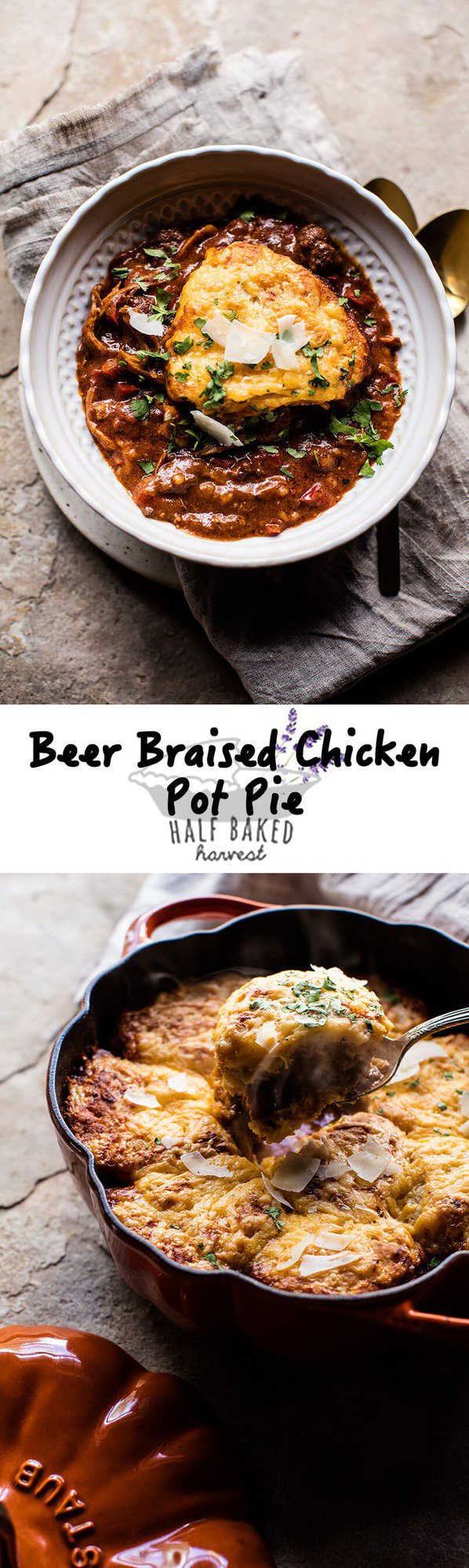 Beer Braised Chicken Pot Pie | halfbakedharvest.com @hbharvest