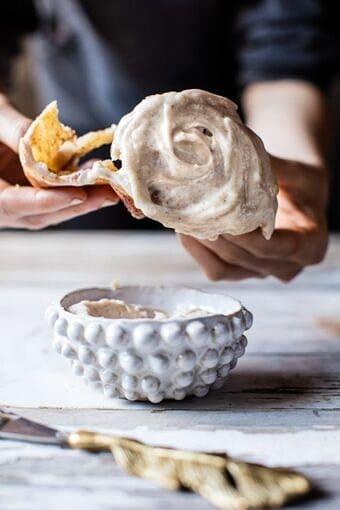 Apple Cinnamon Rolls with Cream Cheese Chai Frosting | halfbakedharvest.com @hbharvest