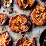 Crispy Roasted Sweet Potatoes with Bourbon Maple Butter | halfbakedharvest.com @hbharvest