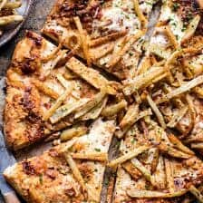 French Fry Cheese Pizza | halfbakedharvest.com @hbharvest
