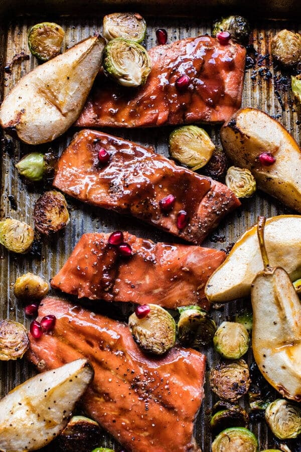 Maple Glazed Baked Salmon | halfbakedharvest.com @hbharvest