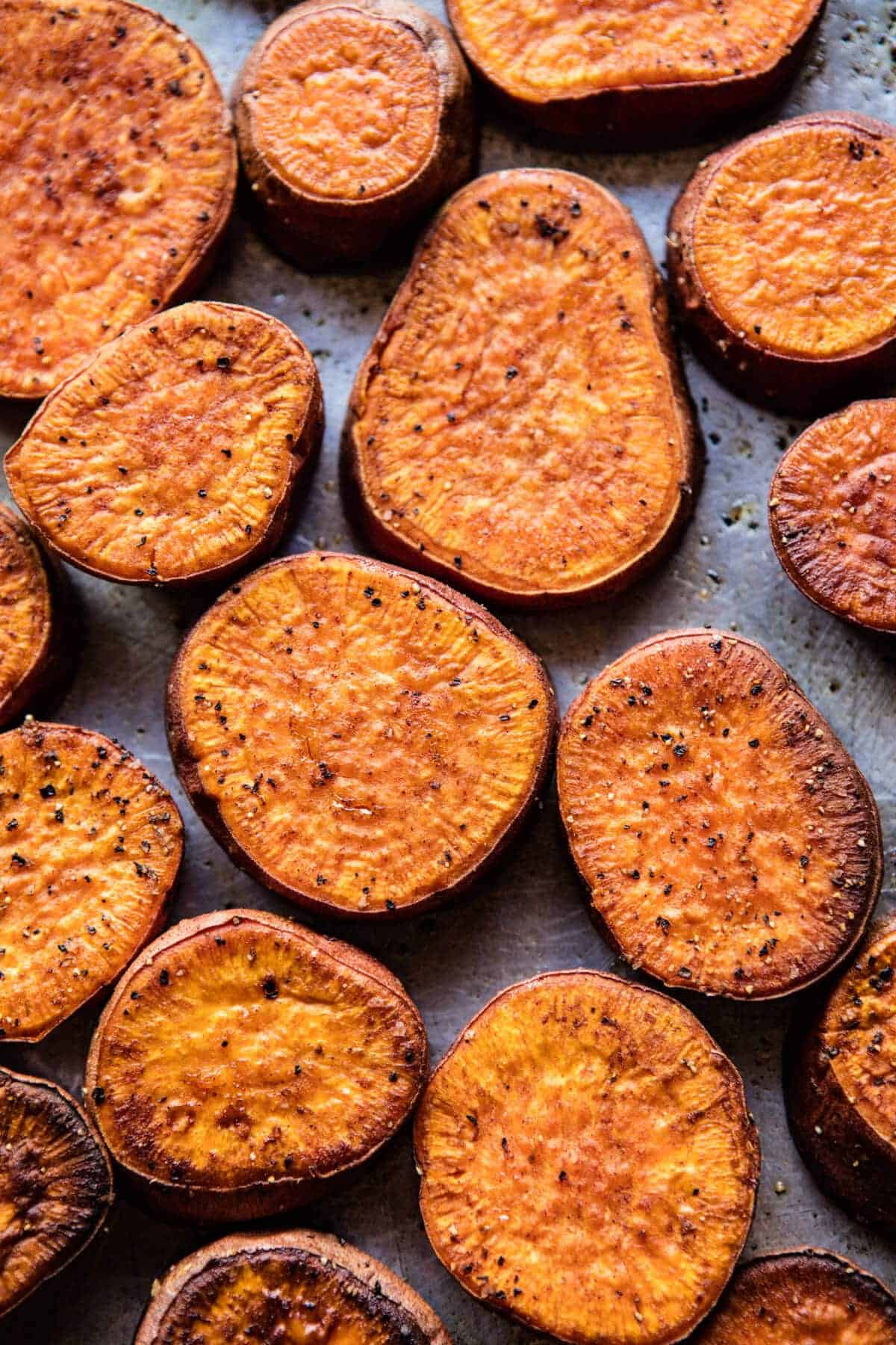 ... Roasted Sweet Potatoes with Bourbon Maple Butter. - Half Baked Harvest