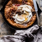 Sweet Potato Pie Dutch Baby.