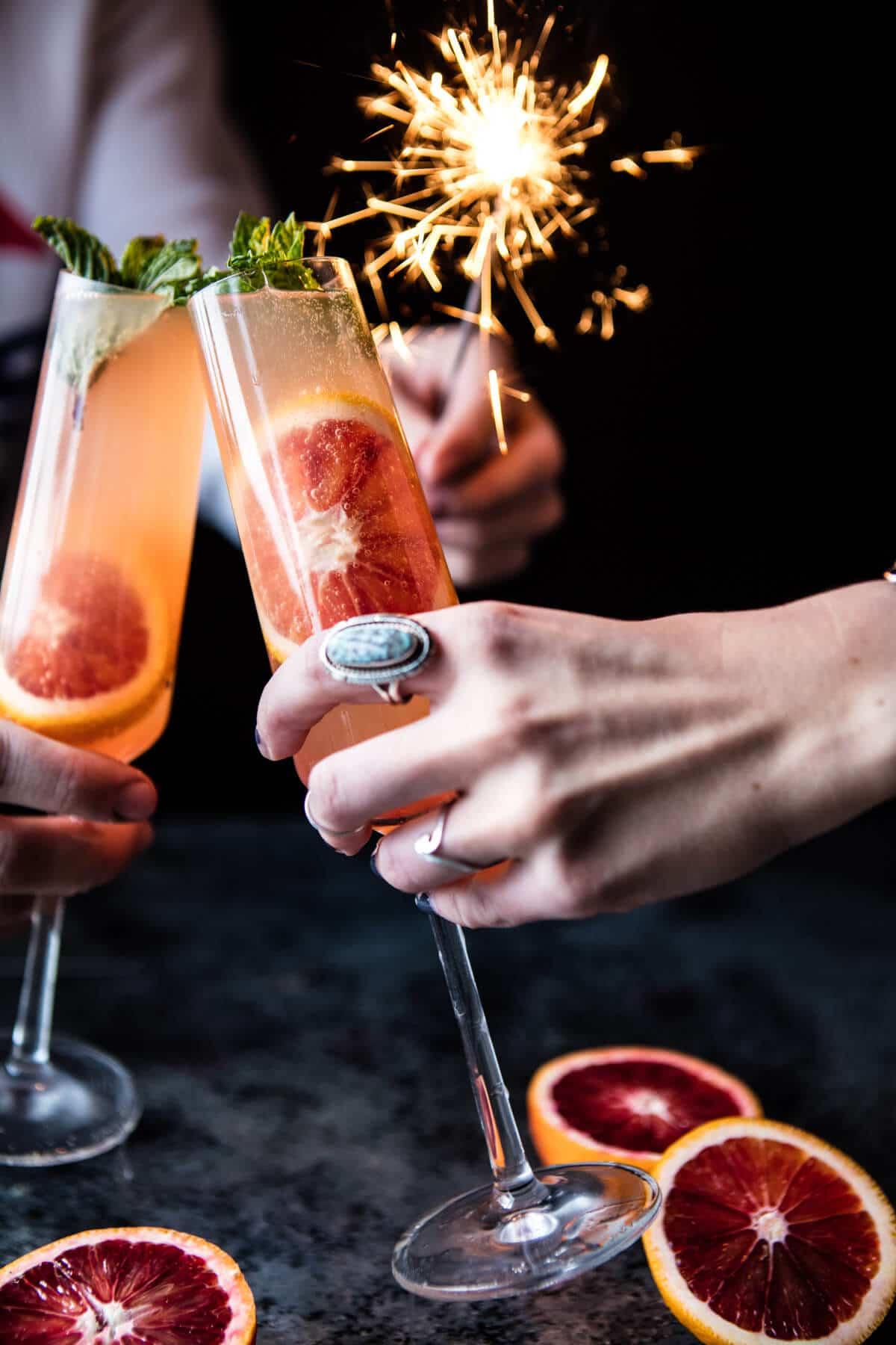 Blood Orange Champagne Mule | halfbakedharvest.com @hbharvest