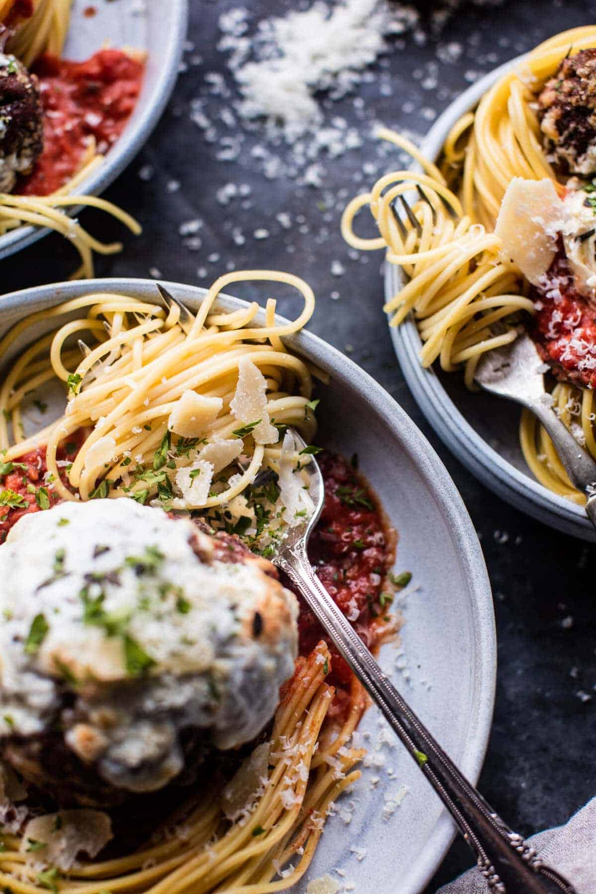 Spaghetti and Meatballs | halfbakedharvest.com @hbharvest