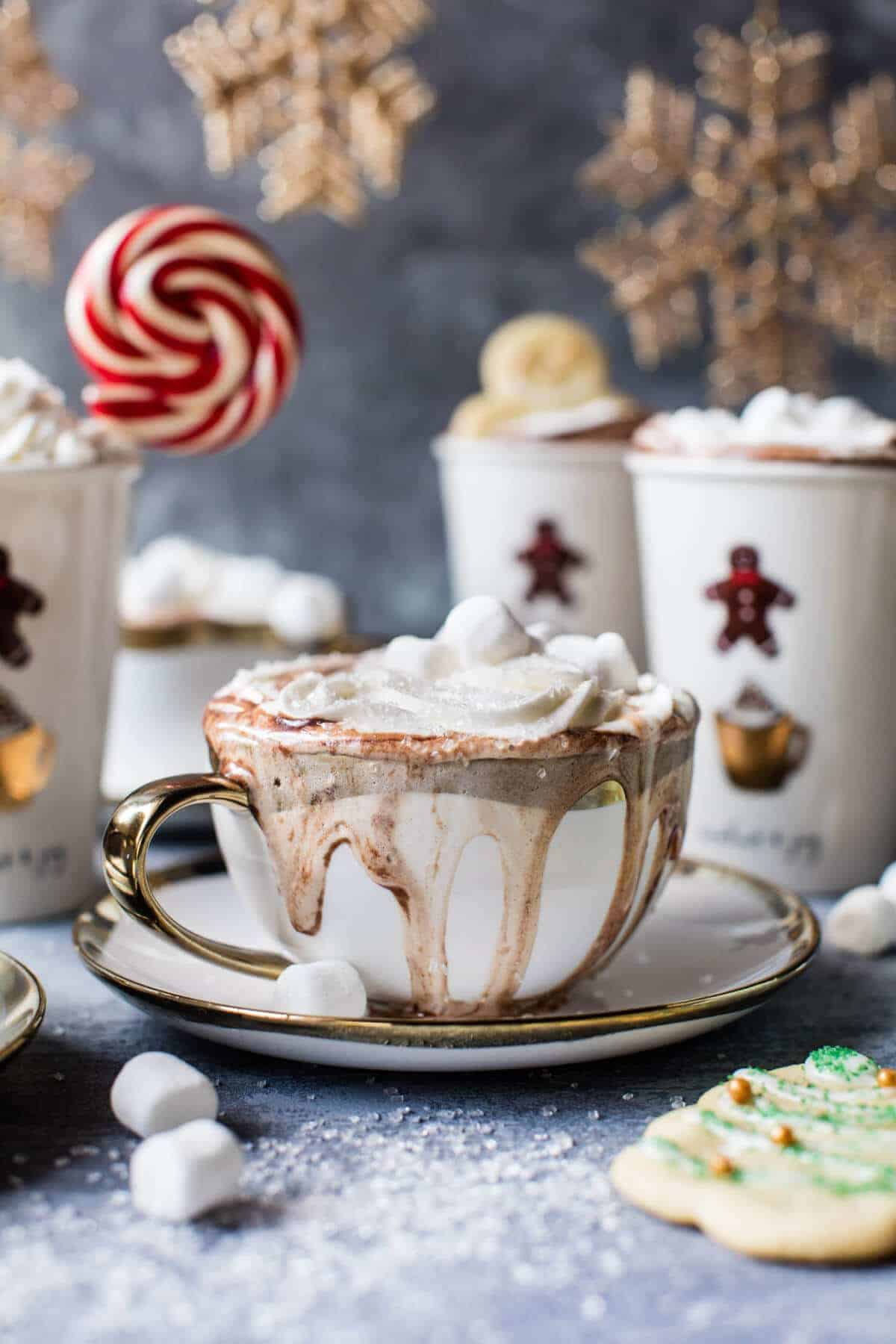 Sugar Cookie Hot Chocolate.