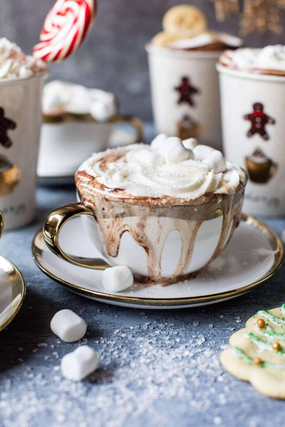 Oatmeal Cookie Drink Hot Chocolate