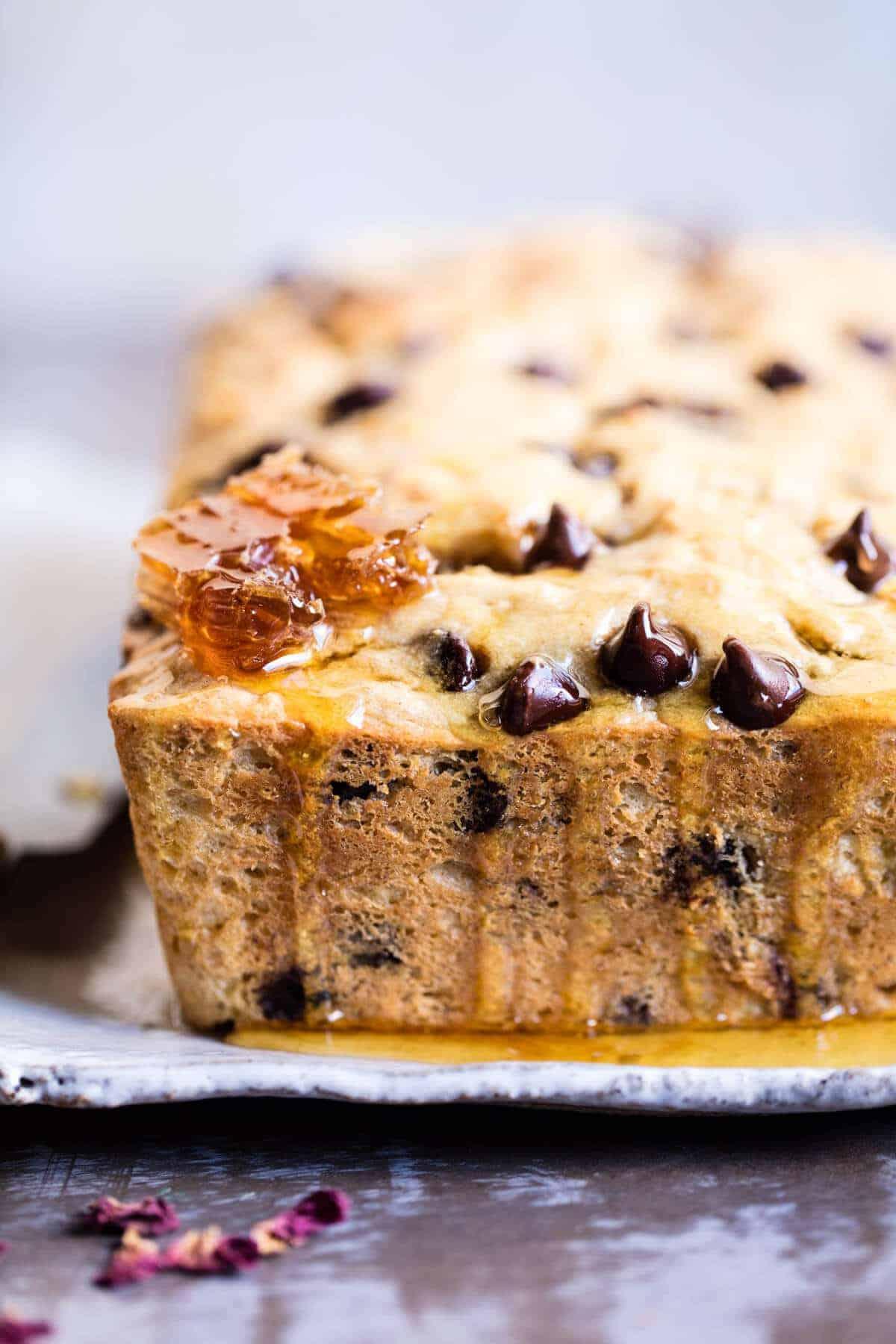 Nourishing 7 Ingredient Chocolate Chip Ricotta Banana Bread + Video