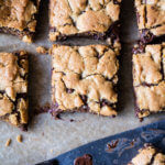 Healthy…ish Chocolate Chip Cookie Bars.