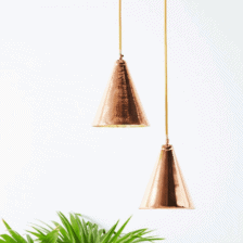 Copper Pendants Lights