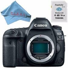 Canon EOS 5D Mark IV DSLR Camera Bundle