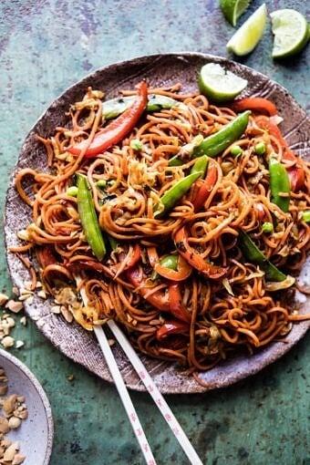 Singapore Sweet Potato Noodles | halfbakedharvest.com @hbharvest