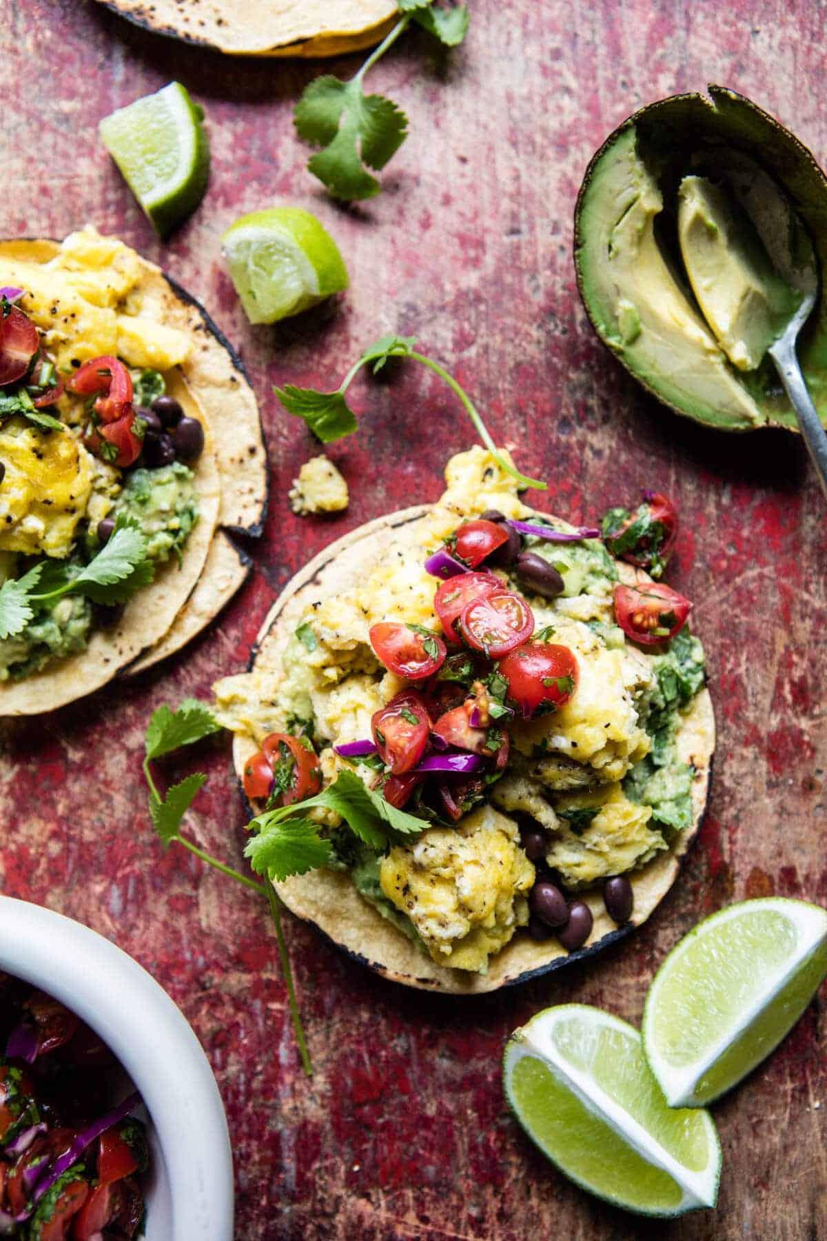 Huevos Rancheros Scrambled Eggs | halfbakedharvest.com @hbharvest