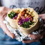 Irishman's Beef Brisket Burrito.