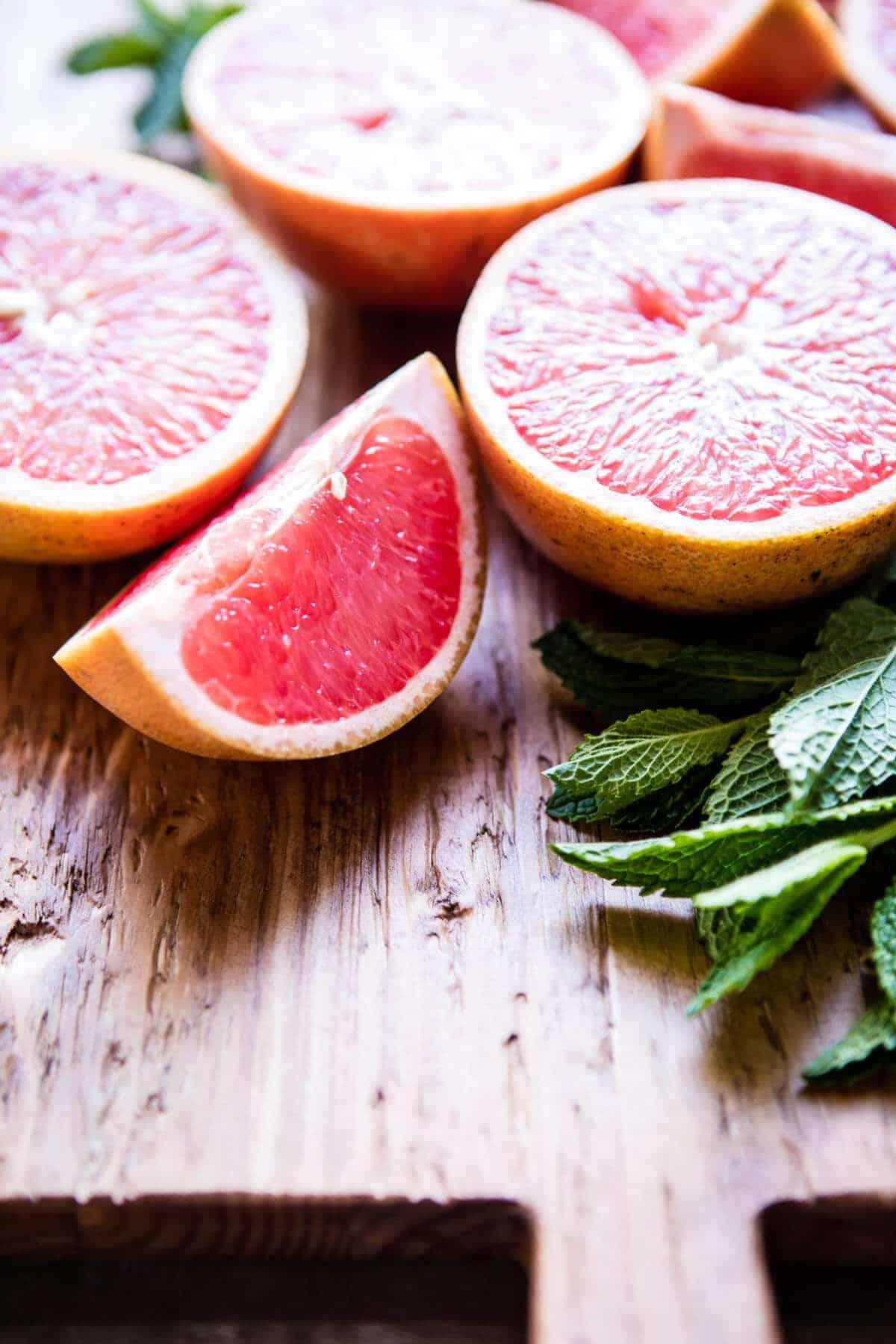 Minty Grapefruit Caipirinha | halfbakedharvest.com @hbharvest