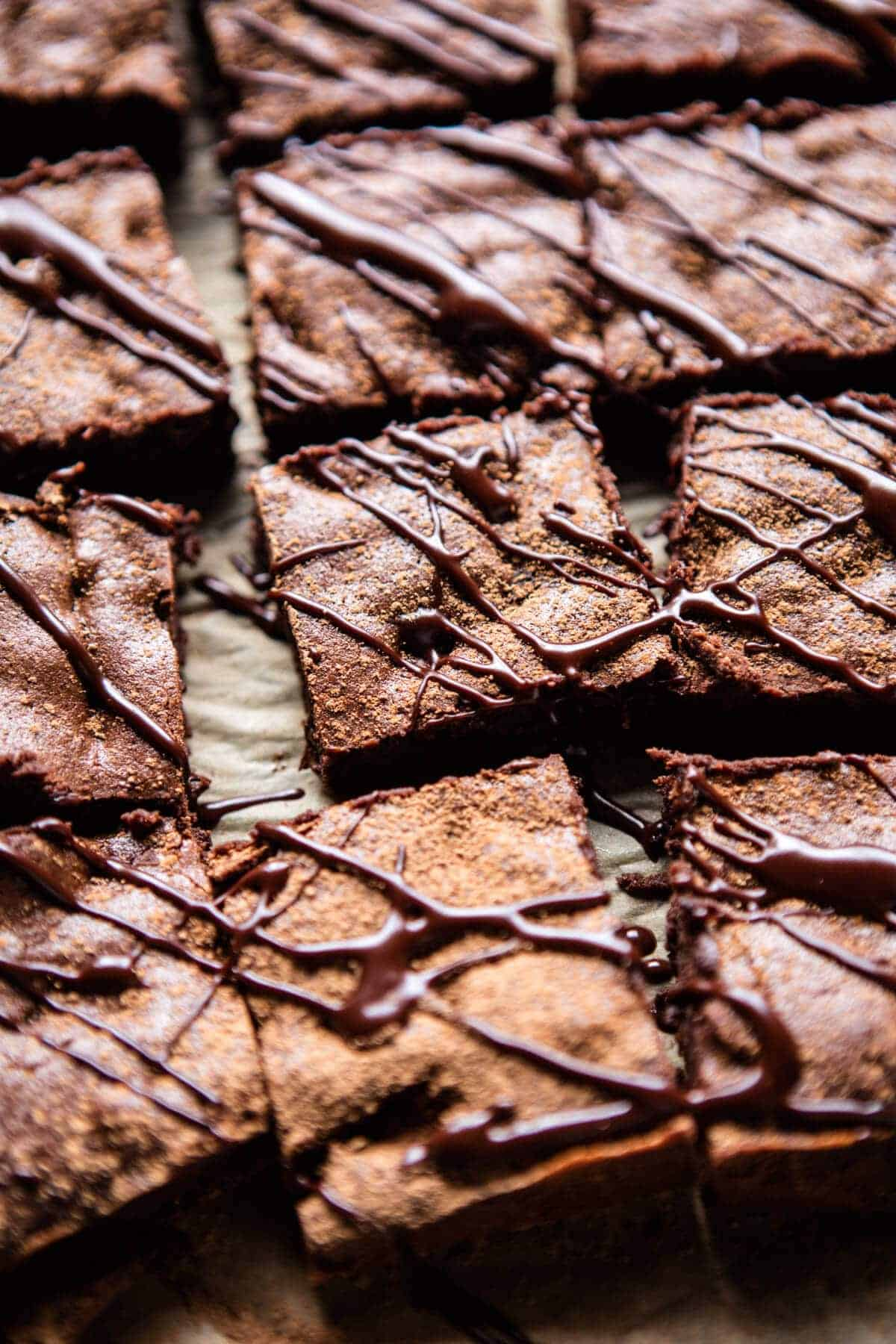 One Bowl 8 Ingredient Irish Coffee Fudge Brownies | halfbakedharvest.com @hbharvest