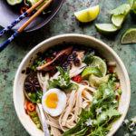 Springtime Chicken Noodle Pho | halfbakedharvest.com @hbharvest