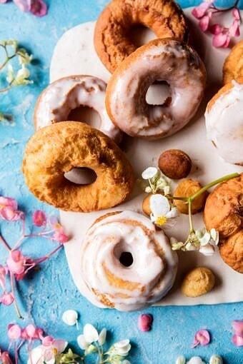 Easy Lemon Ricotta Old Fashioned Doughnuts | halfbakedharvest.com @hbharvest