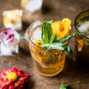 Iced Moroccan Mint Tea.