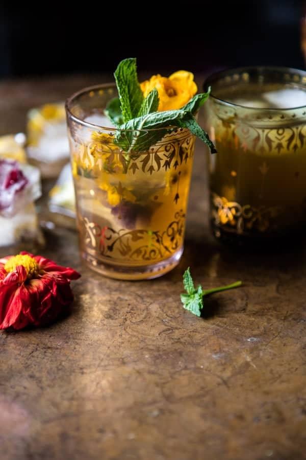 Iced Moroccan Mint Tea | halfbakedharvest.com @hbharvest