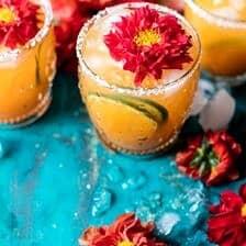 Lemony Lime Island Mango Mezcal Breeze | halfbakedharvest.com @hbharvest