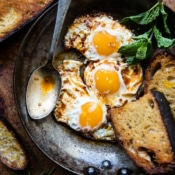 Spicy Moroccan Fried Eggs.