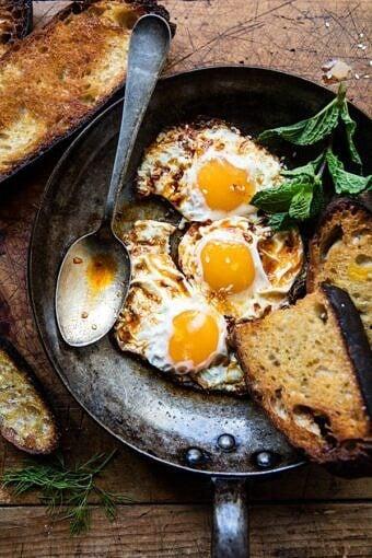 Spicy Moroccan Fried Eggs | halfbakedharvest.com @hbharvest
