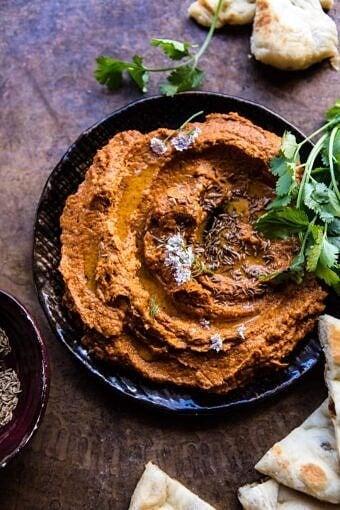 Sun-Dried Tomato Muhammara (Roasted Red Pepper Spread) | halfbakedharvest.com @hbharvest