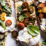 Caprese Burrata Garlic Bread + Video.
