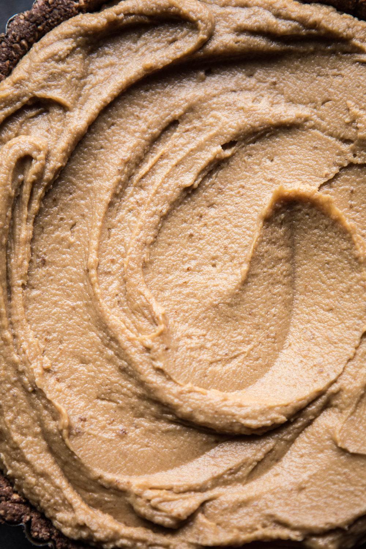 Frozen Peanut Butter Cup Pie | halfbakedharvest.com @hbharvest
